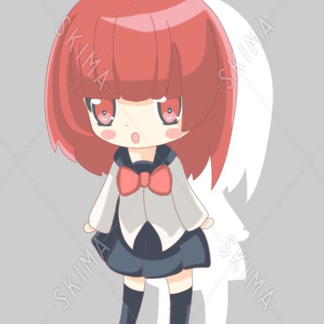 SNSアイコン女の子2