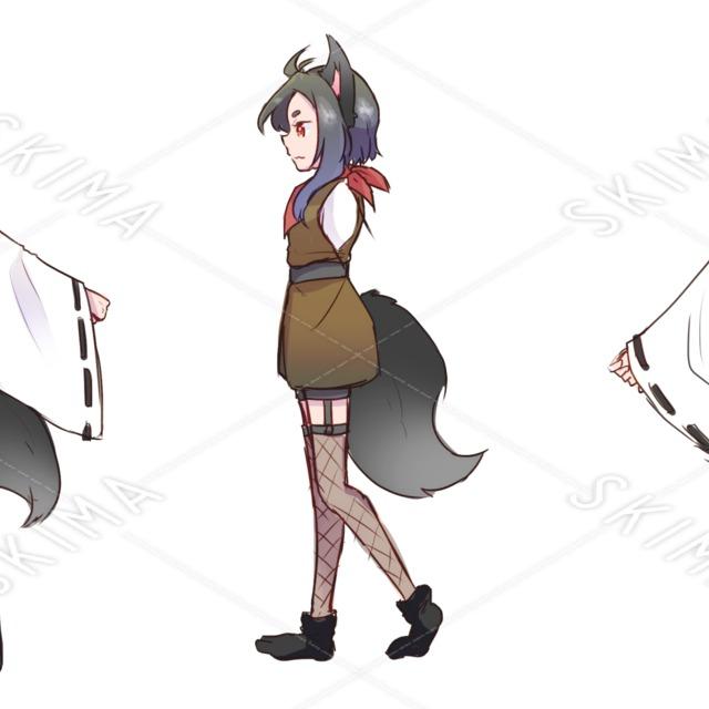 【狐耳少女】