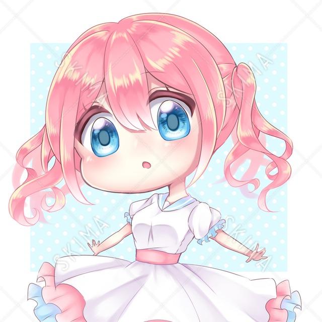 ピンクちゃん SNSアイコン