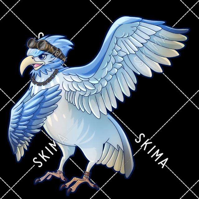 鳥人(完全翼タイプ)