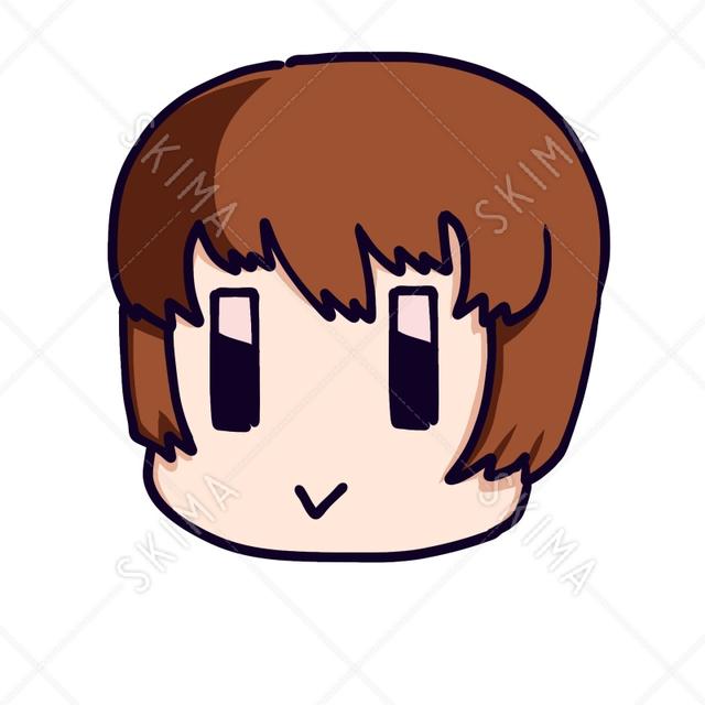ショートヘアアイコン (全5色)