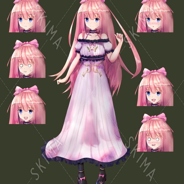 女の子 お嬢様(ワンピースドレス)