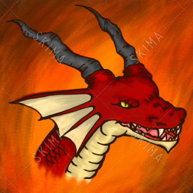SNSアイコン ドラゴンさん