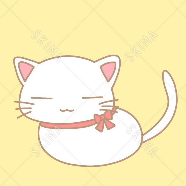 ゆるい白猫【全11枚表情差分あり】