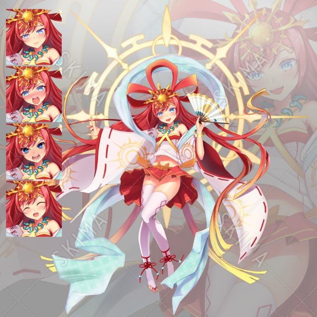 和風神話系女の子
