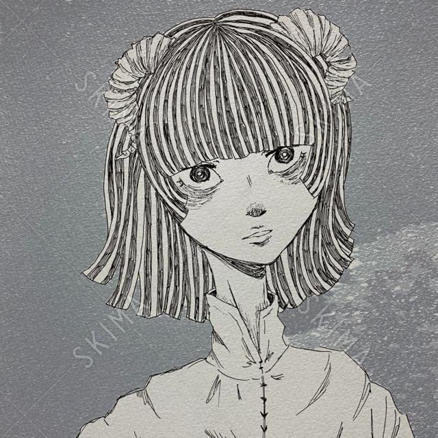 SNSアイコン ペン画