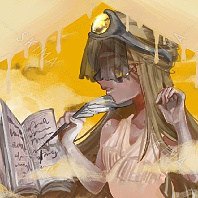 アラビアンな女の子のイラスト