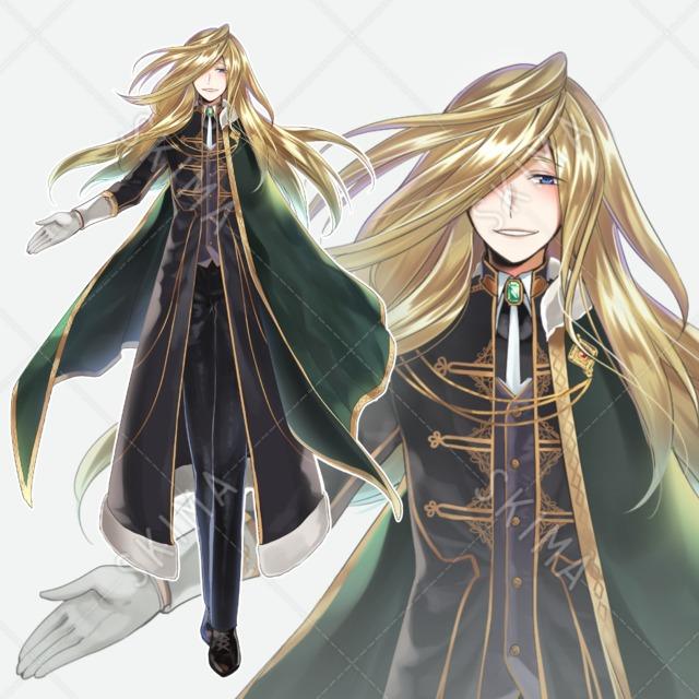 金髪青眼の貴族男性