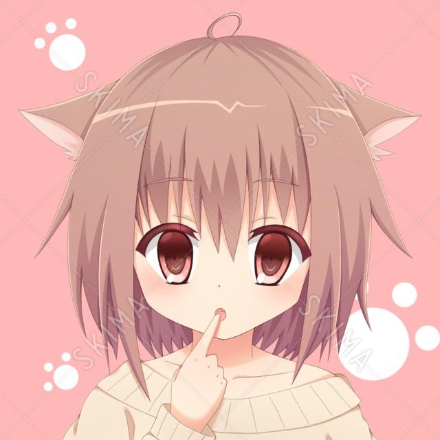 獣耳の少女【SNSアイコン】