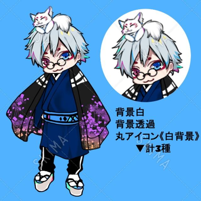 和風×洋風男子/狐