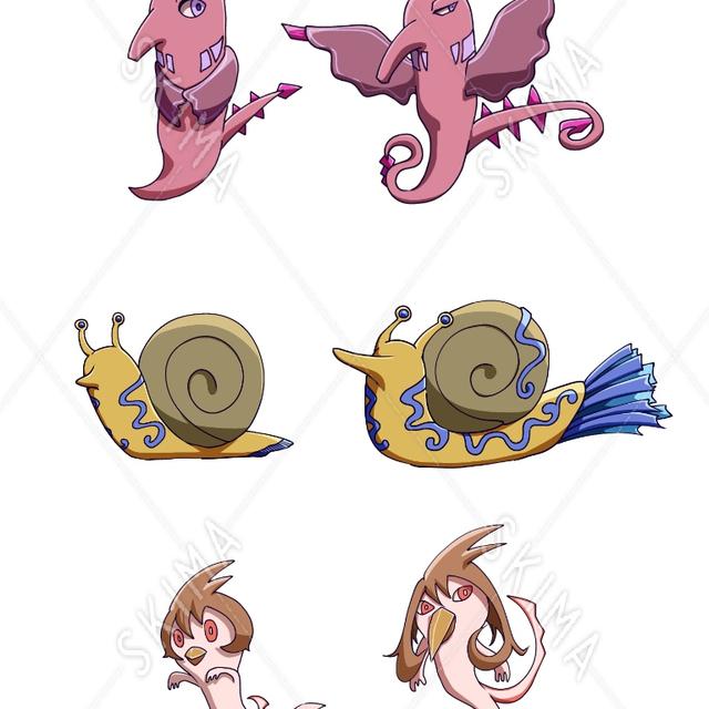 3キャラクターセット (第一形態、第二形態)