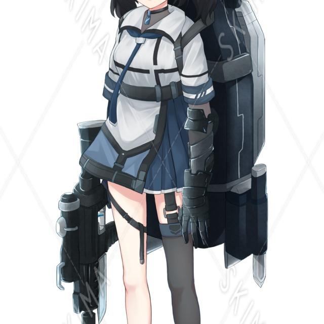重装備少女