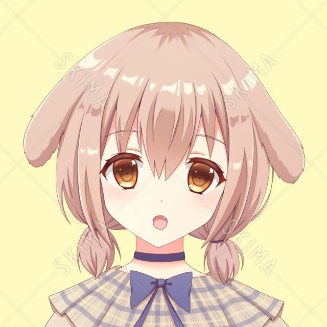 犬耳ちゃん【SNSアイコン】