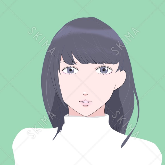 SNS用アイコン_女性
