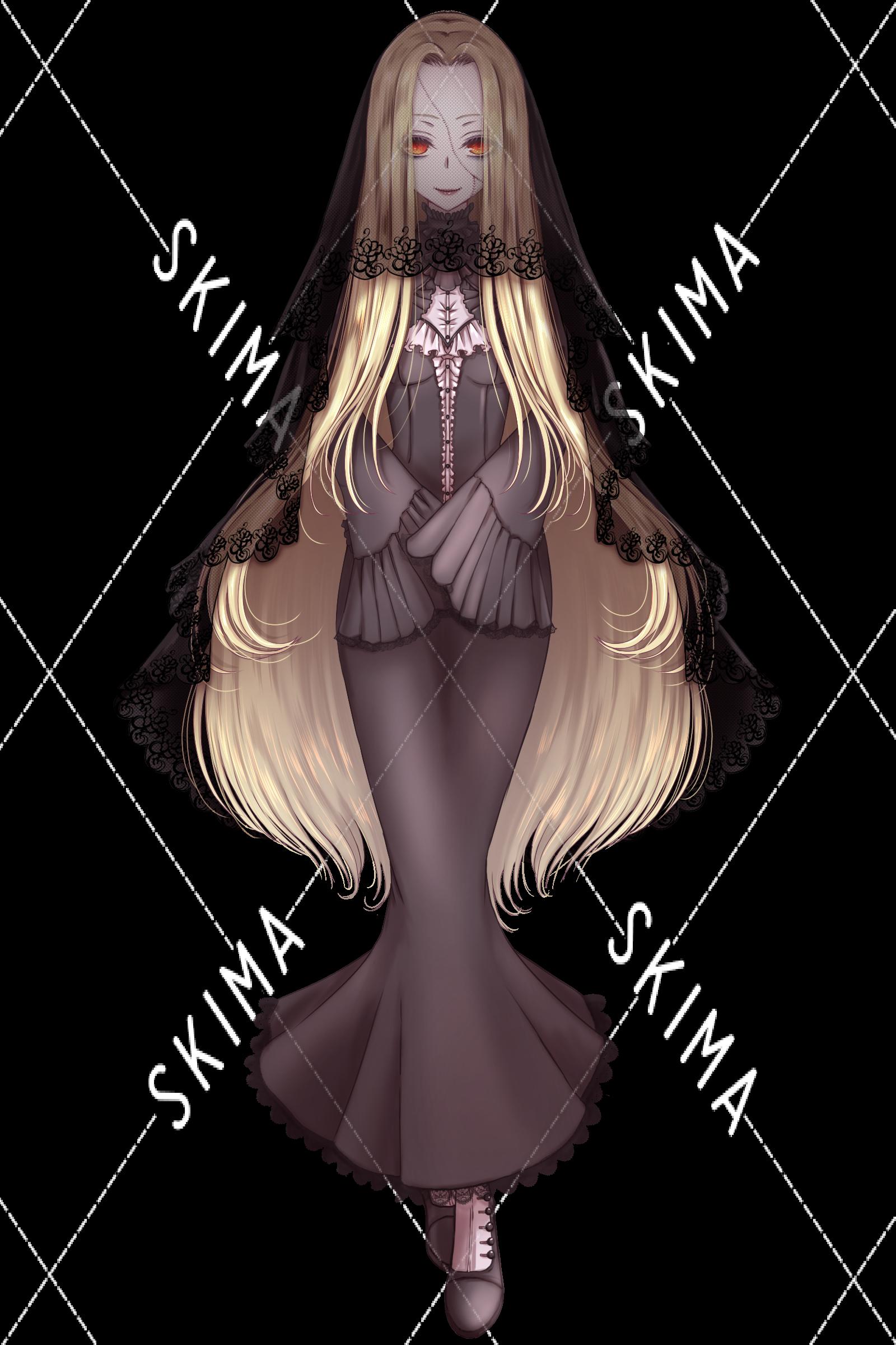 立ち絵 ゾンビちゃん 表情差分5種類 差分2種 スキマ スキルのオーダーメイドマーケット Skima