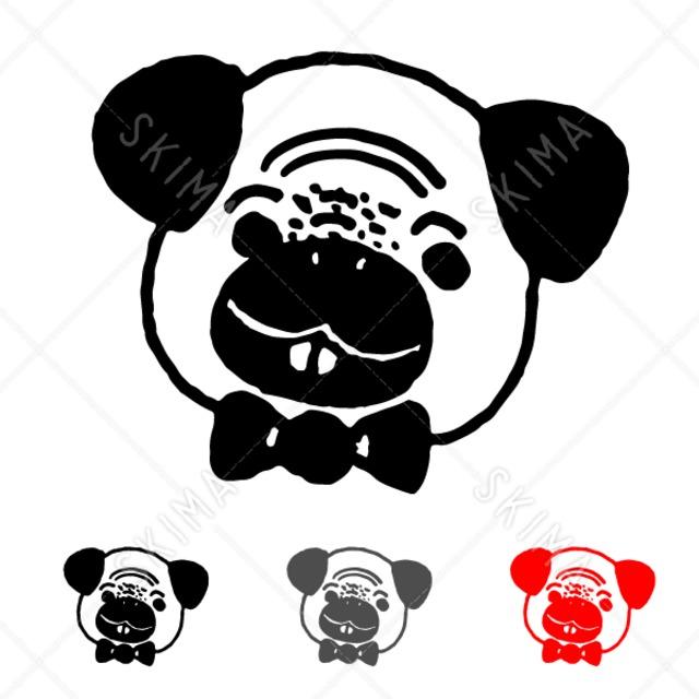 手描きわんこスタンプ【1】