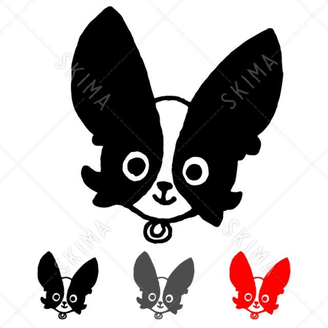手描きわんこスタンプ【3】