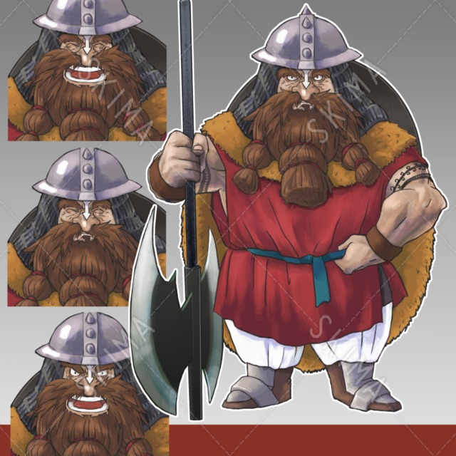 ドワーフ戦士