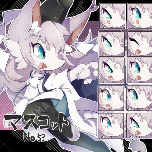 【マスコット風】陰陽師×狐っ子