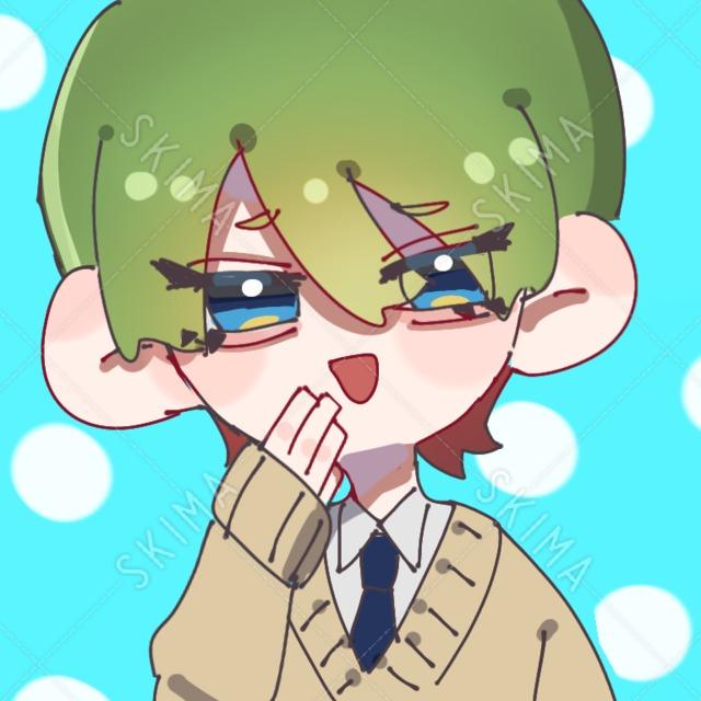 【アイコン】制服を着た中性的な子