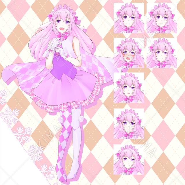桃色の魔法少女