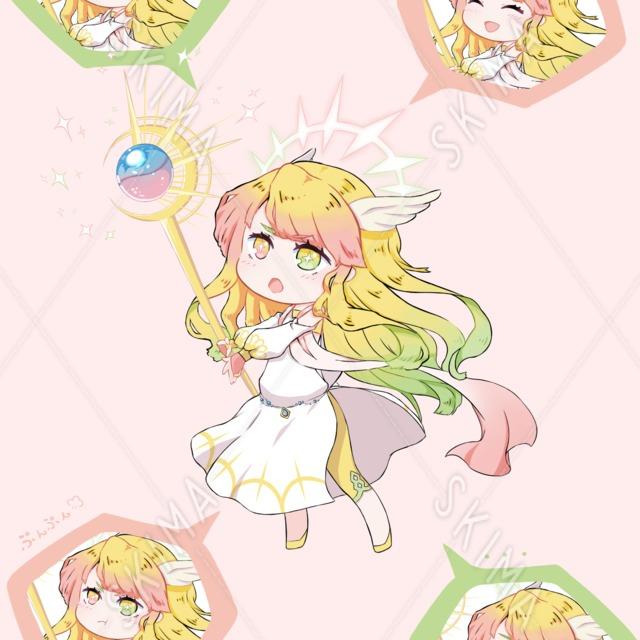 【ファンタジー】ひーらーちゃん!表情5種【デフォルメ】
