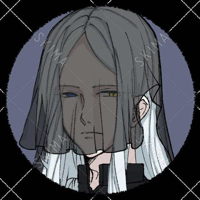 丸形アイコン 男性2