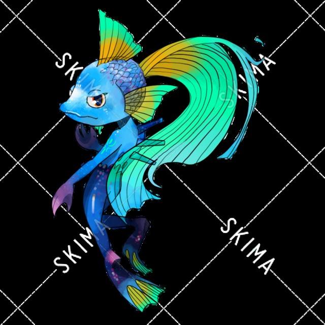 魚人Adopt(表情差分12種)