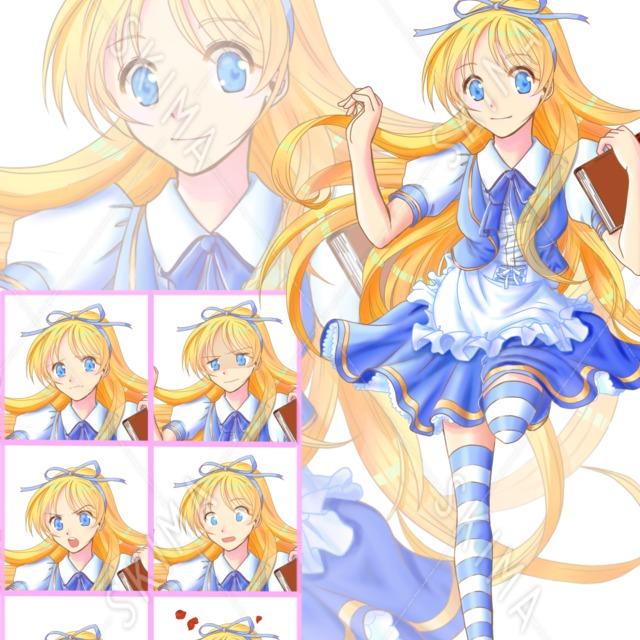 アリス風の女の子