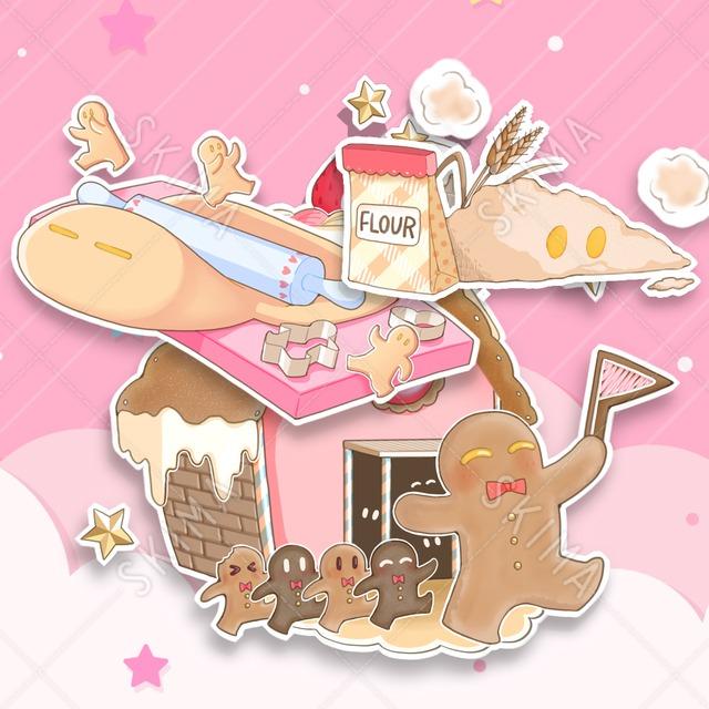 クッキーのキャラクター(三種セット)🍪