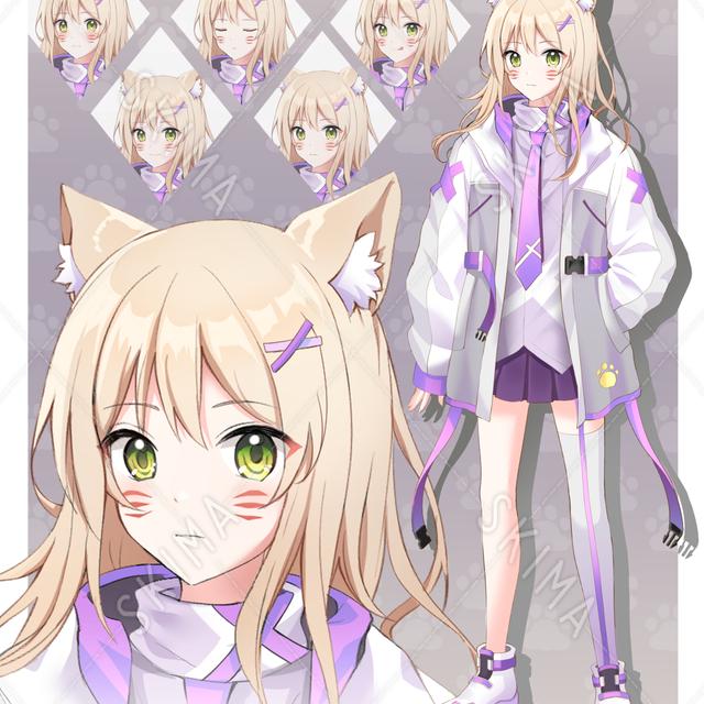 [値下げ]狐少女「表情5種」