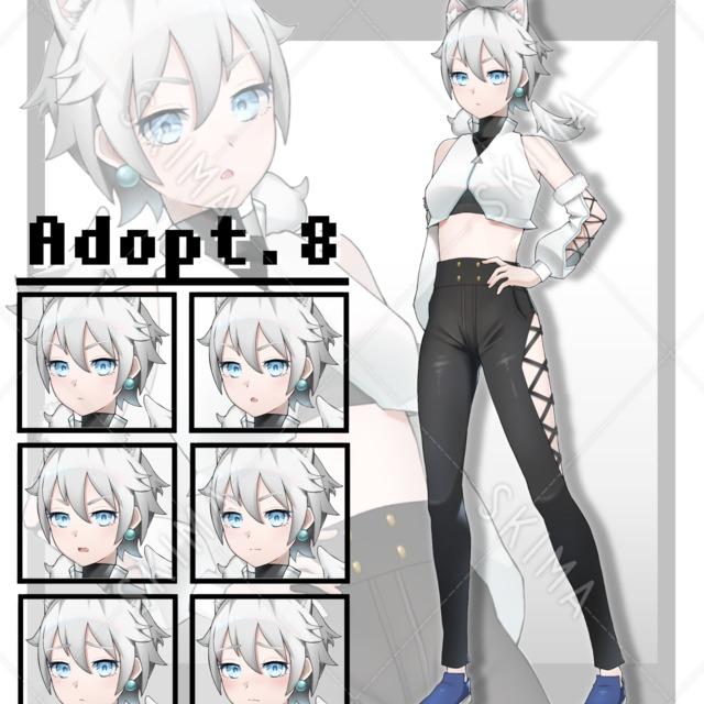 【SALE】Adopt.8 ハスキー