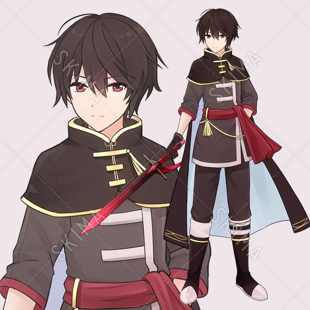 剣士の青年