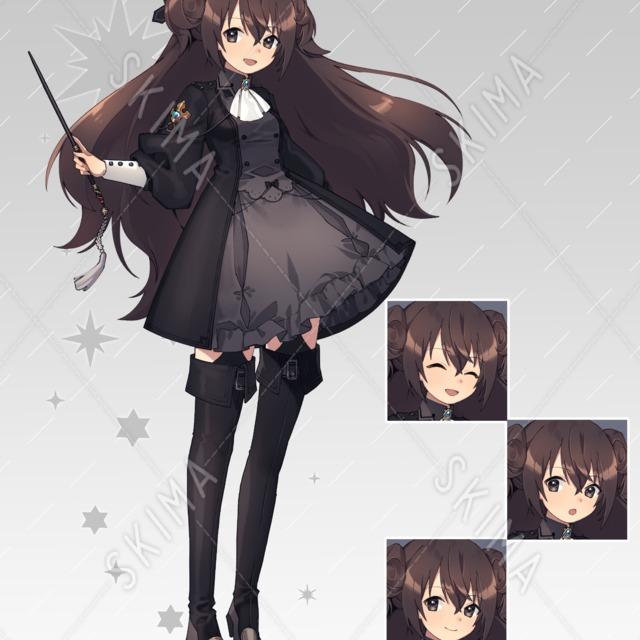 女の子のキャラクター