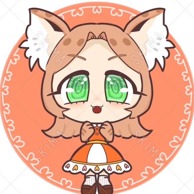 猫のイラストアイコン