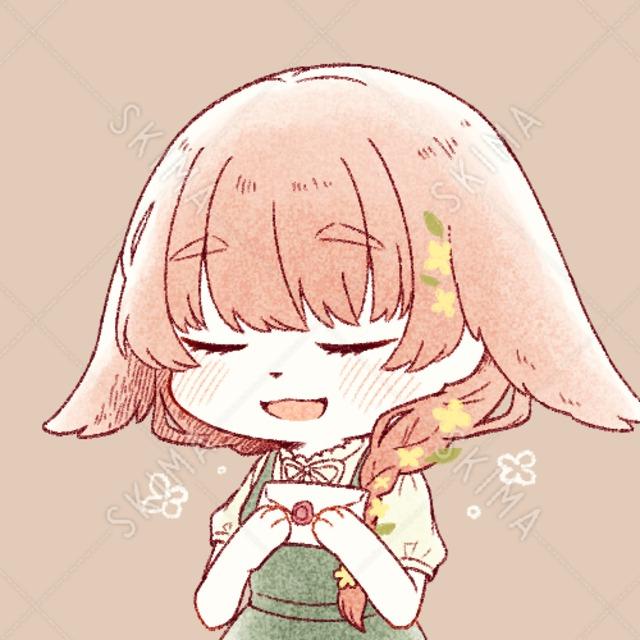 うさ耳女の子のアイコン