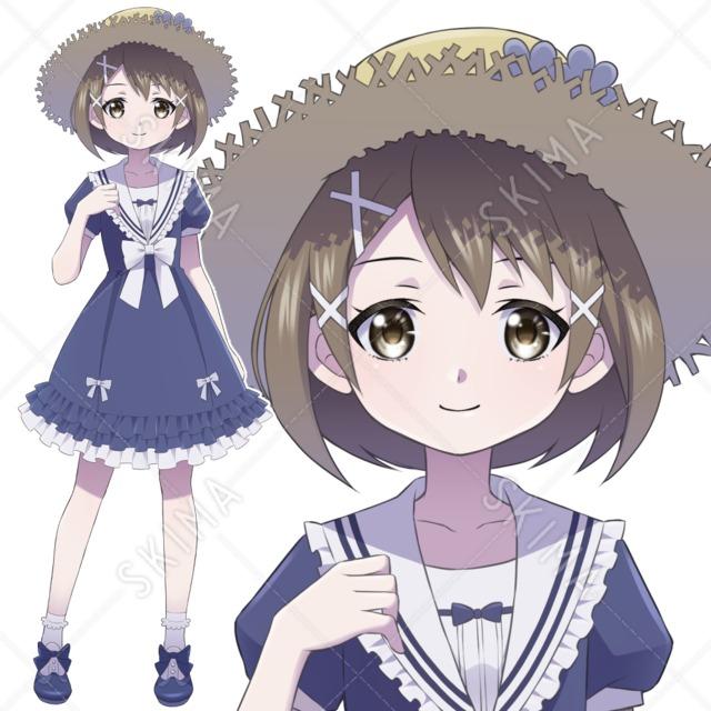 【5月10日まで限定30%OFF】麦藁の少女【表情差分3種】