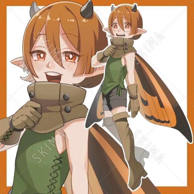 蝶の羽の妖精(差分10種)