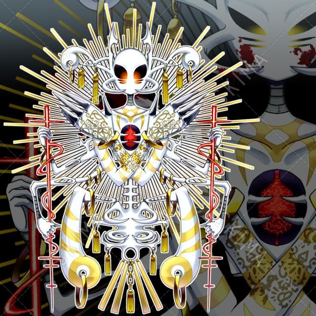 異形-堕ちた神(表情差分5種/返り血差分有)