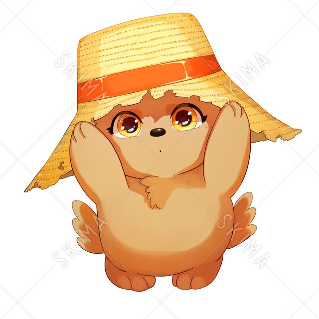 妖精:麦わら帽子