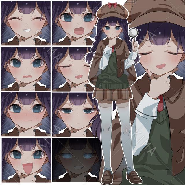 天才かもしれない探偵の女の子