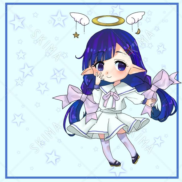 ミニ天使ちゃん【表情差分あり】
