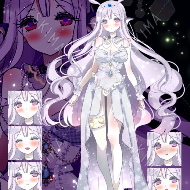 【立ち絵】深海のお姫様