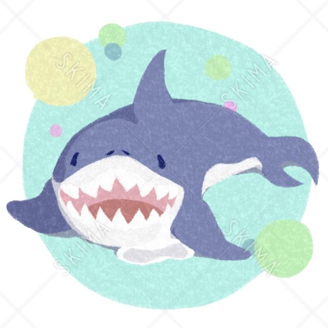 †アニマルシリーズ†よだれを垂らすサメ