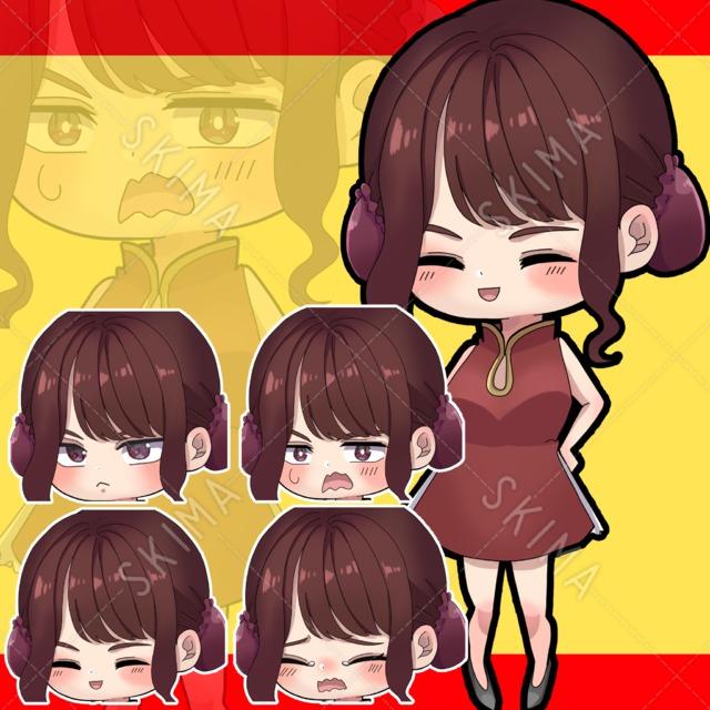 【SD デフォルメ キャラクター】チャイナ女子