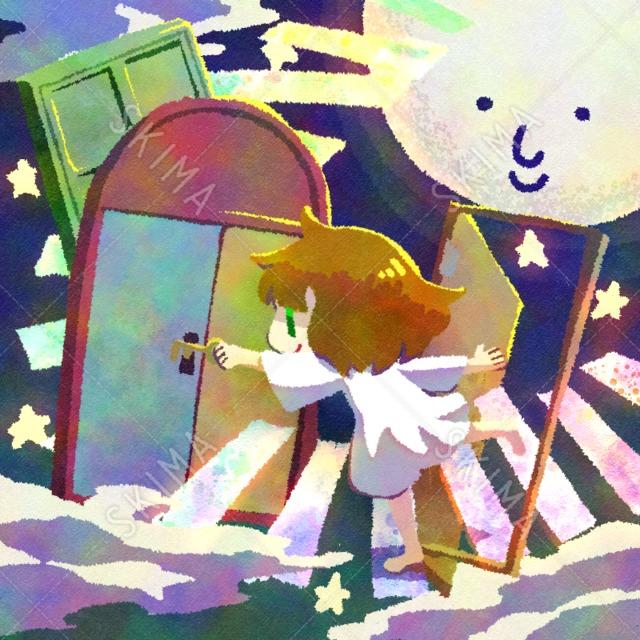†幻想少女シリーズ†夢の扉を開く女の子