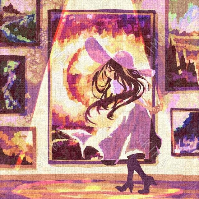 †幻想少女シリーズ†絵に溶け込む少女