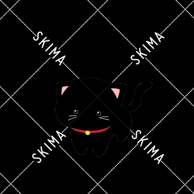 【主線なし】ゆるい黒猫【表情差分】