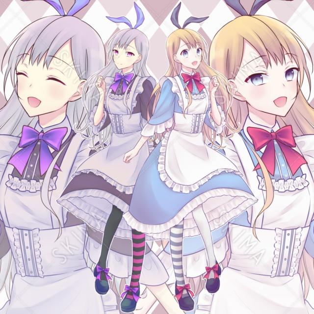 【表情5種】2Pカラーアリス