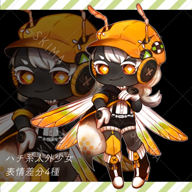 ハチ系人外少女
